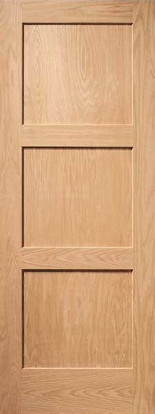 Three Panel Door Interior Interior Flat Panel Doors Mission Style Doors Interior Wood Doors