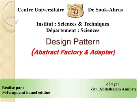 abstract adapter pattern abstract factory adapter