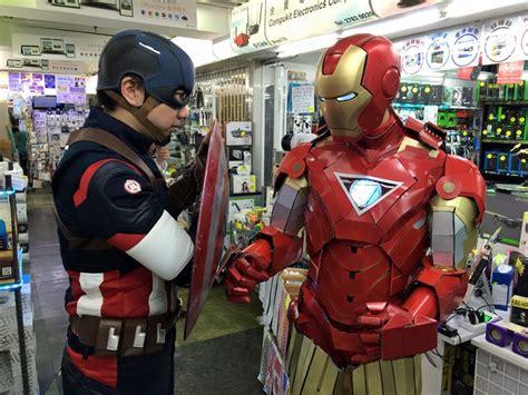 avengers endgame fan film chris iron man hongkong