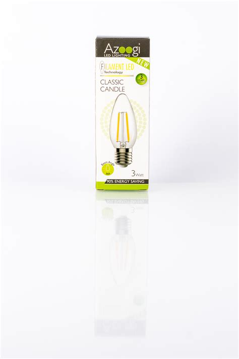 candele led candle led 3 watt e27 azoogi led lighting
