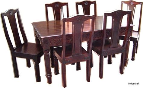 dining table design india wood dining table designs india