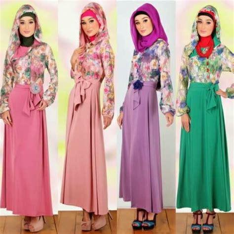 desain dress muslim terbaru model model desain dress muslim busana muslim terbaru