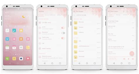 theme creator lg pink theme for lg g6 v20 g5 android apps on google play
