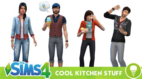 How To Pack Kitchen Stuff by The Sims 4 Cool Kitchen Stuff Clothing And Hairstyles