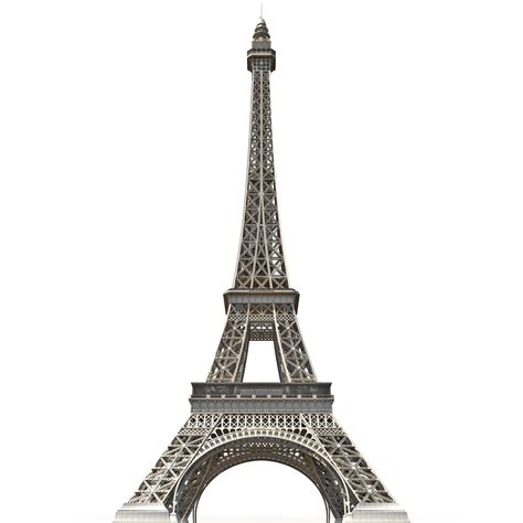 eiffel tower model template eiffel tower low poly 3d c4d