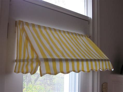 indoor window awnings ready made indoor awning curtain 31 1 2 quot wide 79 00