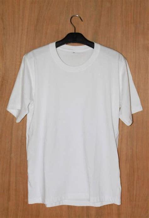 limback baju kaos 0005 putih jual kaos polos putih ukuran l di lapak cays outdoor