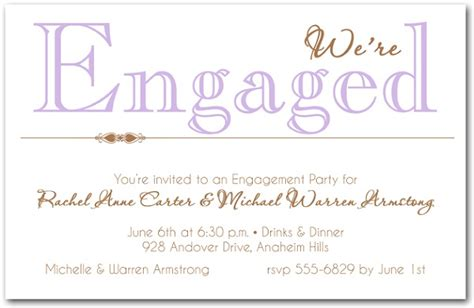 sle engagement invitation cards templates engagement invitation wording 365greetings