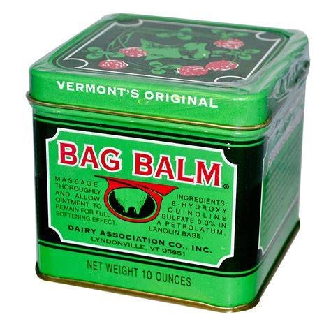 bag balm and other pearls