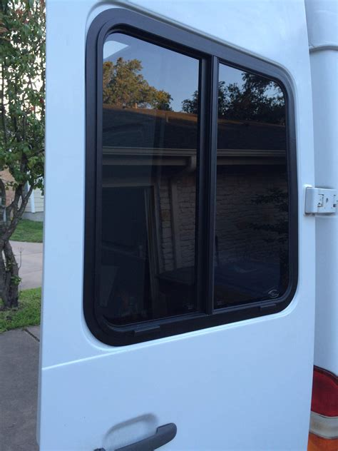Rv Windows And Doors by Sliding Windows For The Rear Doors Sprinter Cer