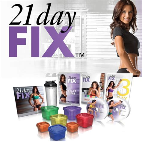 weight loss fix beachbody s 21 day fix weight loss system with autumn
