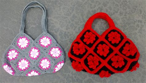 bag pattern youtube granny square bag crochet tutorial part 2 of 3 handles