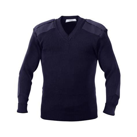 Sweater X pilot sweater blue medium