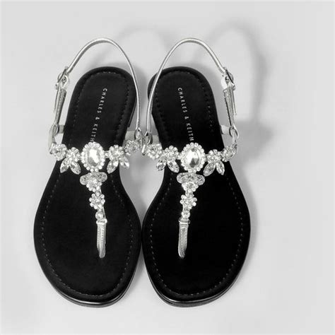 Flat Shoes Silver Charles And Keith Flat Shoes Flats And Silver Flat Shoes On