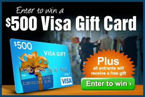 Buy 500 Dollar Visa Gift Card - win a visa gift card from eversave 500 plus free gift for entering