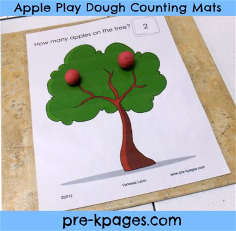 printable apple playdough mats 20 fun ways to learn how to count