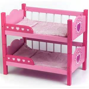 baby doll bunk beds dolls bunk beds dolls world dolls bed kiddymania uk