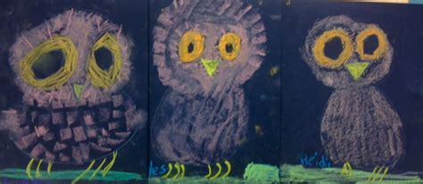 kindergarten lesson on texture and pattern owls fall art lesson archives art teacher in la