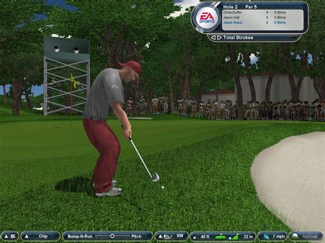 golf swing sound effect game tiger woods pga tour 174 2004 nvidia uk