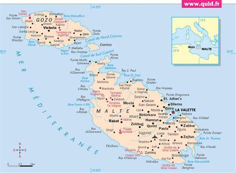 0004490487 carte touristique malta and infos sur carte malte arts et voyages