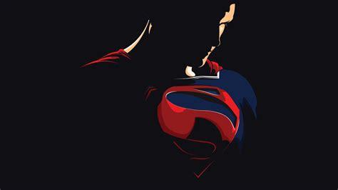 artwork minimal superman superman wallpaper hd wallpaper