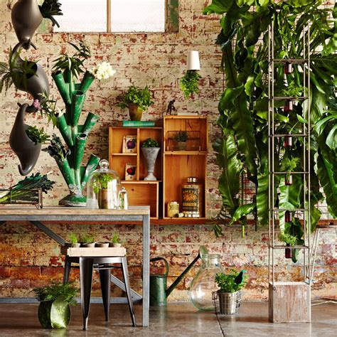 inside garden unique indoor garden ideas modern magazin
