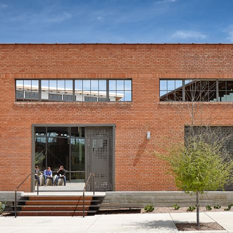 hughes warehouse adaptive reuse san antonio by overland partners overland transforms san antonio warehouse into a studio