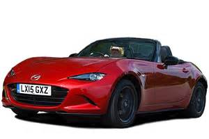 mazda mx 5 roadster mpg co2 insurance groups carbuyer