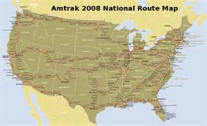 Amtrak Train Route Map by Gallery For Gt Amtrak Map 2012