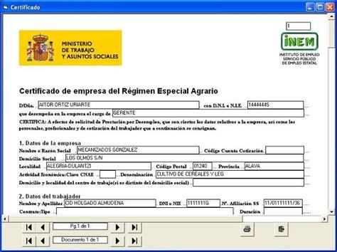 fecha de deposito ayuda desempleo del mes de mayo 2016 certificado de empresa temporeros