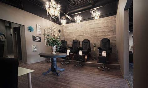 salons in edmonton hiring mani pedi concrete blonde hair body groupon
