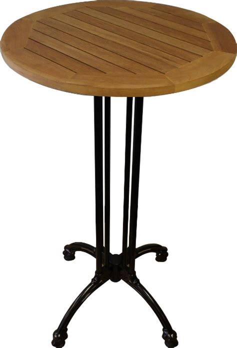 Cast Iron Patio Table Teak Patio Table W Black Cast Iron Base