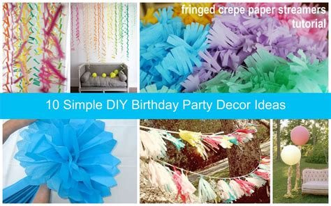 easy decorations cheap party decoration ideas dream house experience