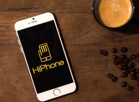 h iphone hiphone logo design logo cowboy