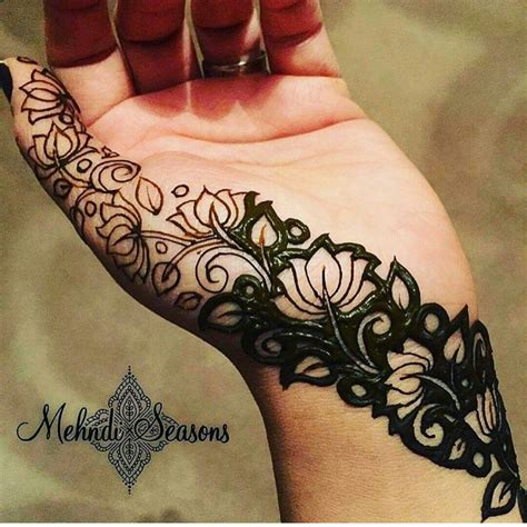 henna tattoo hand patterns a beautiful veil design for hint of mehendi on your