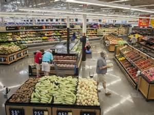 walmart food section walmart is taking its groceries upscale
