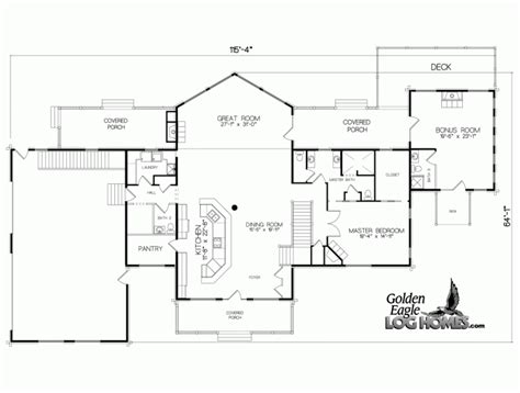 lake house floor plans view small 3 bedroom lake cabin with open and screened porch