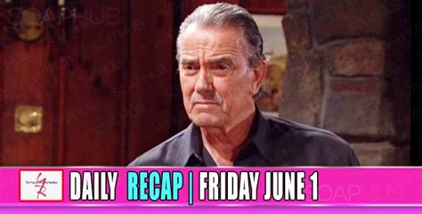 yr recap one night the young and the restless recaps the young and the restless yr recap victor has a lot of