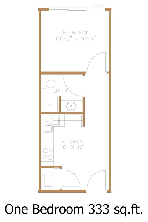 small one bedroom apartment floor plans hawley mn apartment floor plans great north properties llc