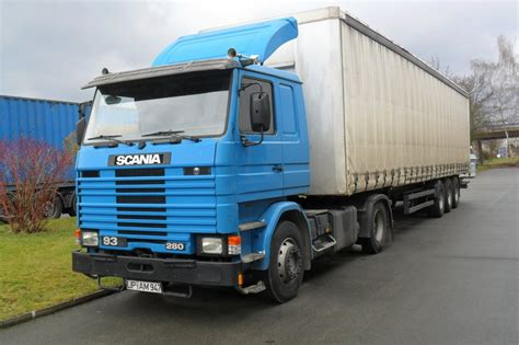pin scania 93m 280 4x2 armored truck 1992 94 on