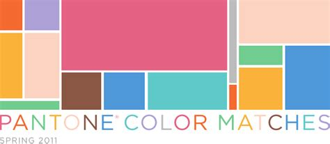 color matched pantone color matches 2011