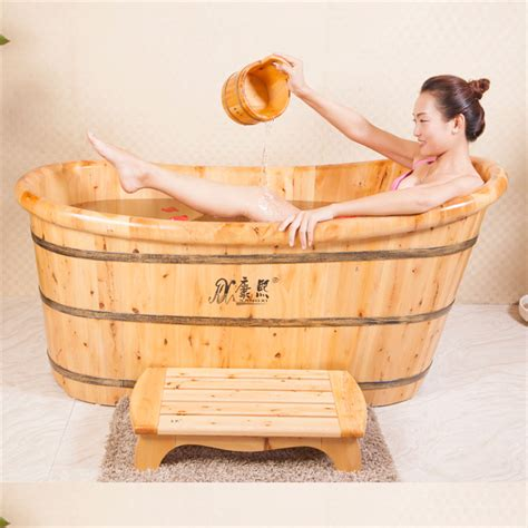 factory made directly solid wooden bathtub hot tub buy