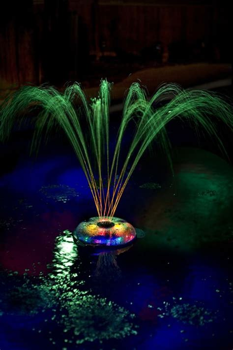 floating solar lights for fountains pool fountain pool fountain ideas swimming design vrbo