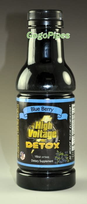 High Voltage Detox by High Voltage Detox Blue Berry Gogopipes