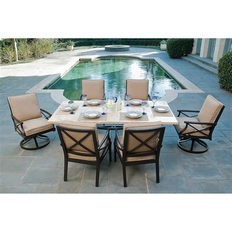 Patio Dining Sets Home Depot Polywood Outdoor Round On