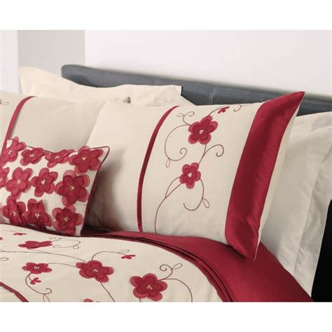 red floral bedding dreams n drapes macy red floral duvet set dreams n