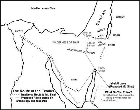 bible map coloring page free coloring pages of exodus map