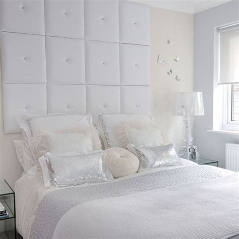 Oversized Headboard by Sophisticated Bedroom With Oversized Headboard White