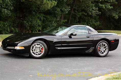 black corvette z06 for sale 2002 black z06 35k corvetteforum chevrolet