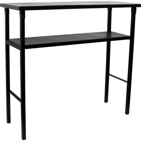 Portable Bar Table Deluxe Metal Portable Bar Table With Carrying Walmart